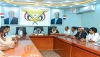 محافظ شبوة يدعو إلى توحيد الجبهة الداخلية لمواجهة الخطر الحوثي الإيراني